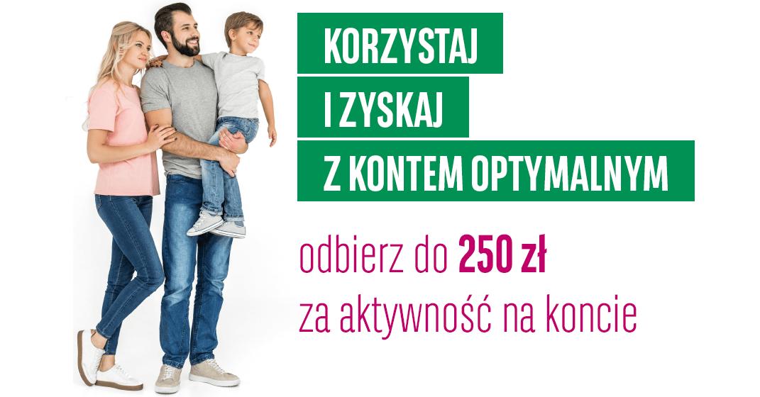 Zgarnij 250 zł, a nawet 350 zł za założenie konta w BGŻ BNP Paribas