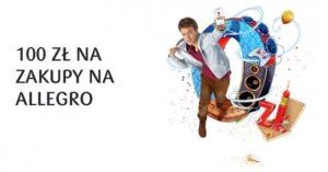 Zgarnij 100 zł na Allegro za Konto dla Młodych w PKO