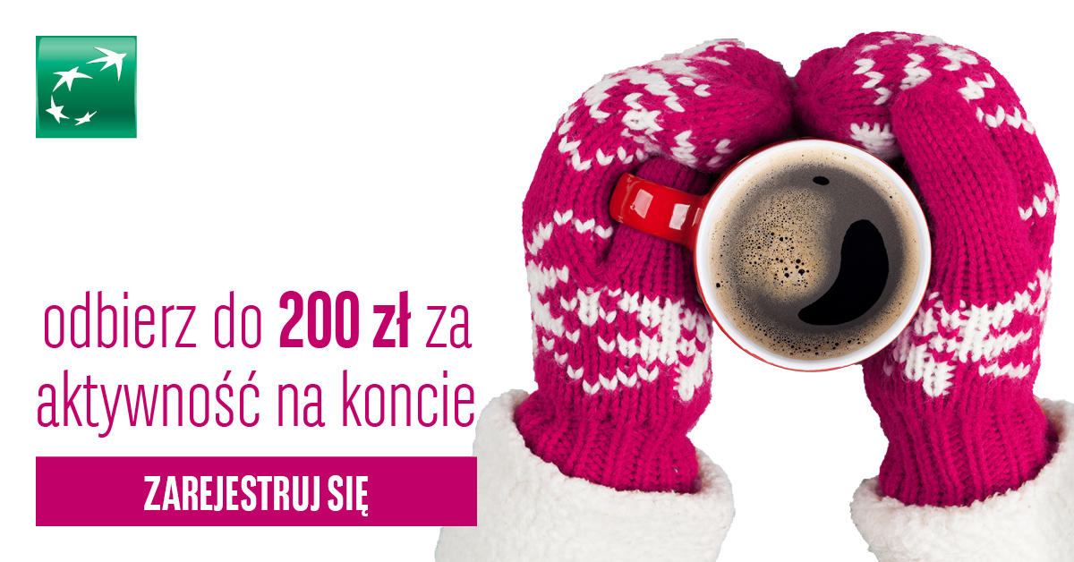 Premia za założenie Konta aż 200 zł od BGŻ BNP Paribas