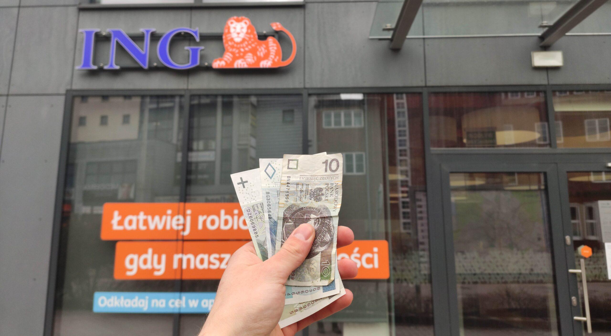 Bonusowe 160 zł z darmowym kontem Mobi od ING Banku Śląskiego