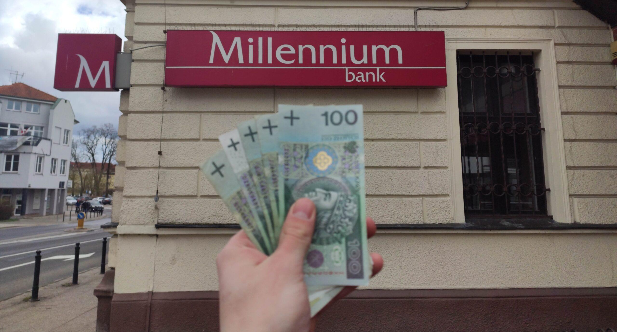 zgarnij promocyjne 500 zł premii z kontem 360 od Millennium Bank