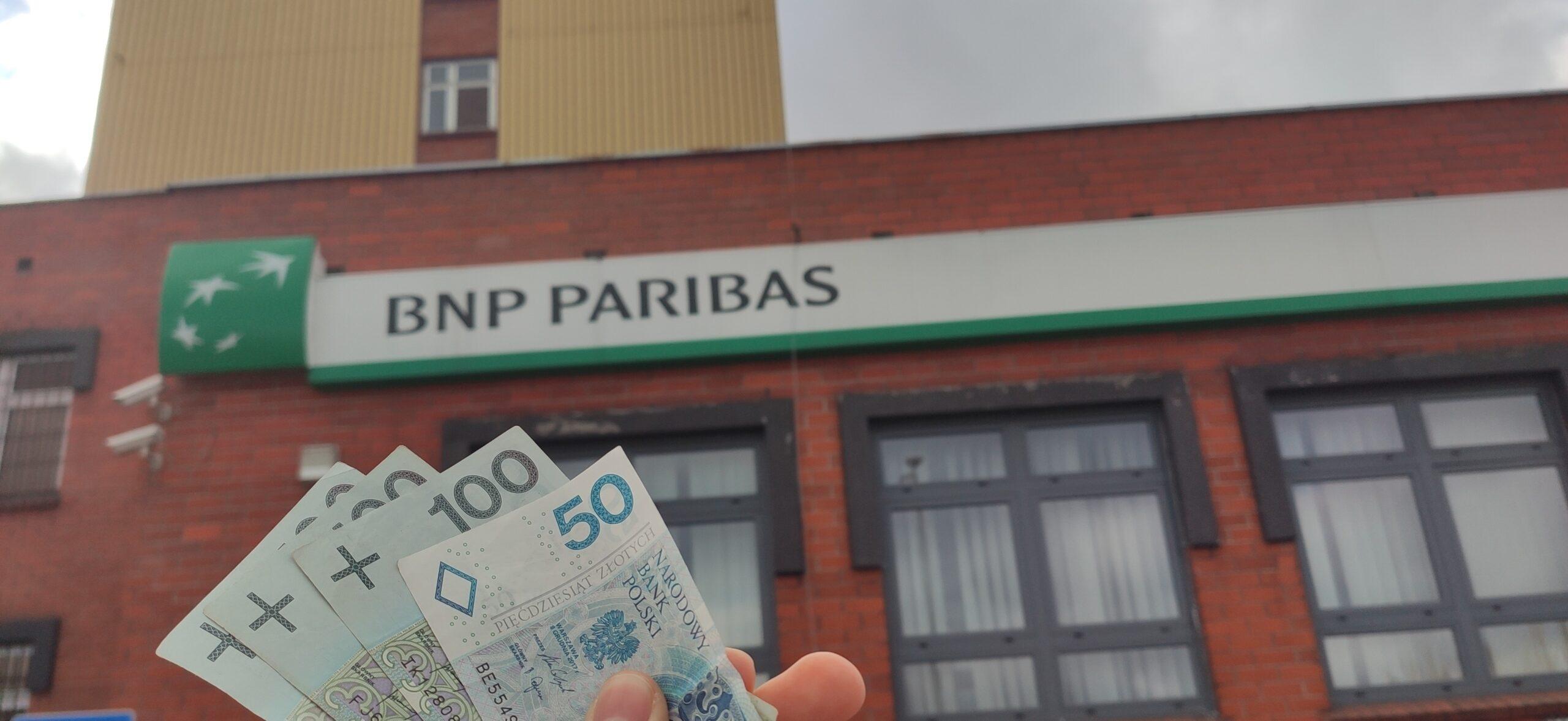 Do zdobycia 350 zł od BNP Paribas z darmowym kontem
