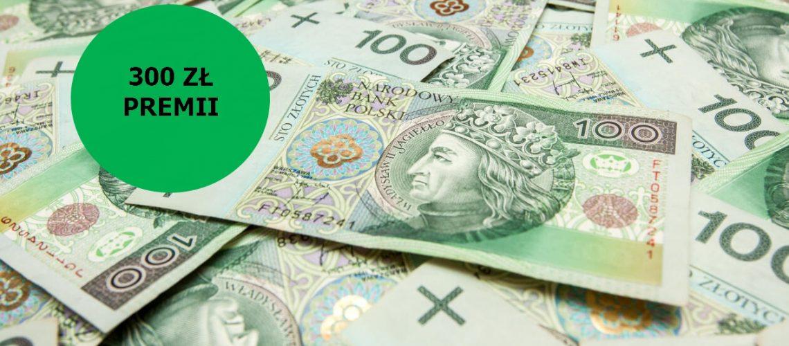 300 zł za założenie darmowego konta osobistego od BNP Paribas