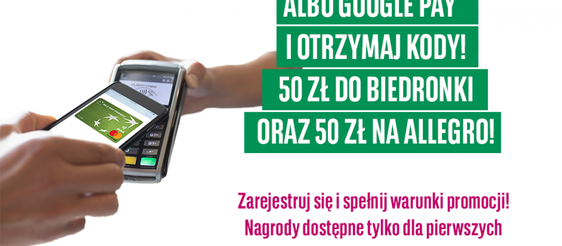 100 zł za płatności telefonem dla obecnych klientów BGŻ BNP Paribas