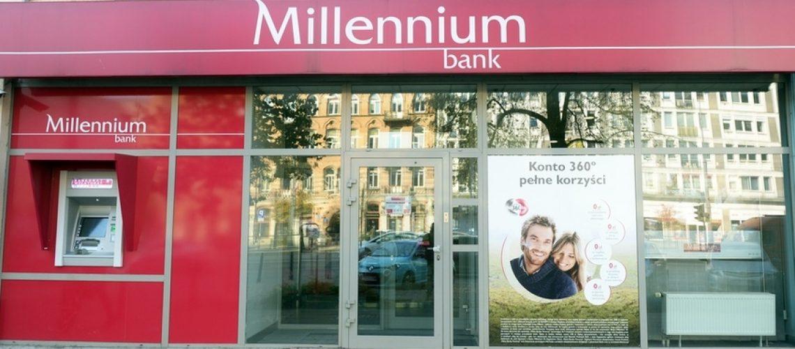200 zł za założenie darmowego konta w Banku Millennium