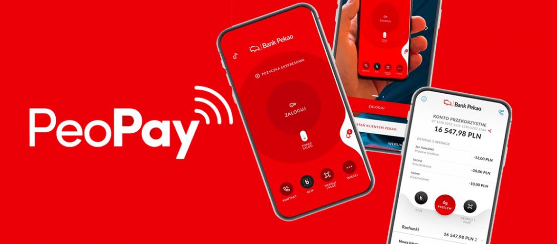 Bankowość mobilna PeoPay