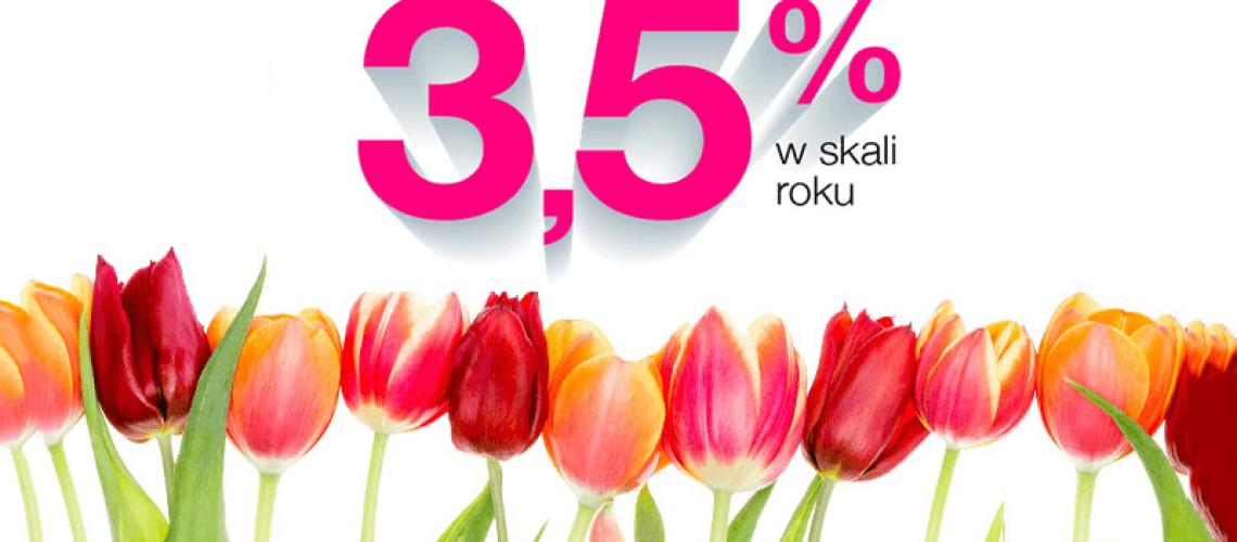 3,5% na Lokacie Wiosennej od Idea Banku do 1 000 000 zł